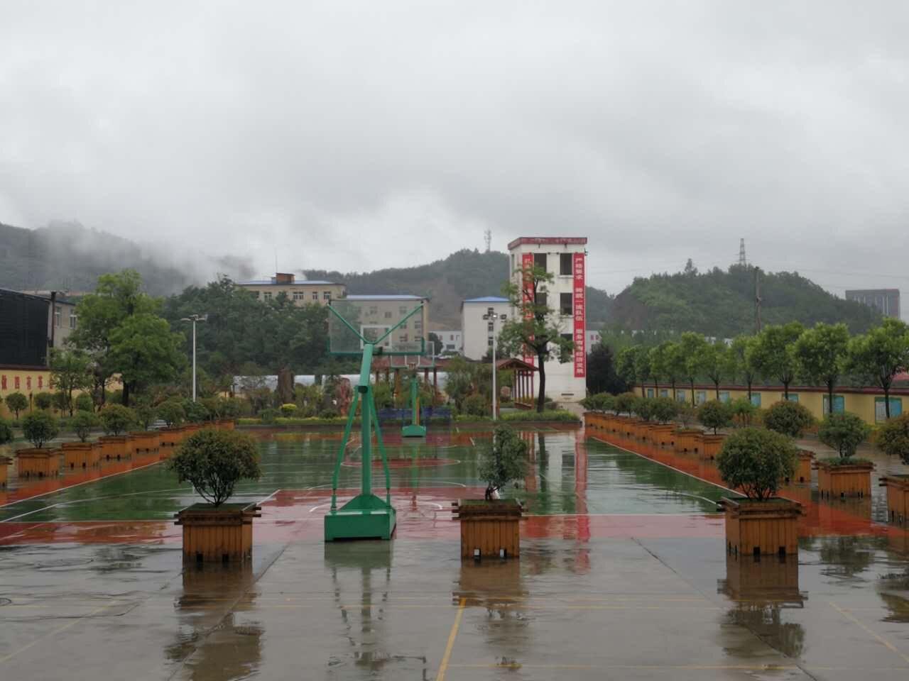 商南县消防队绿化亮化及基础景观工程