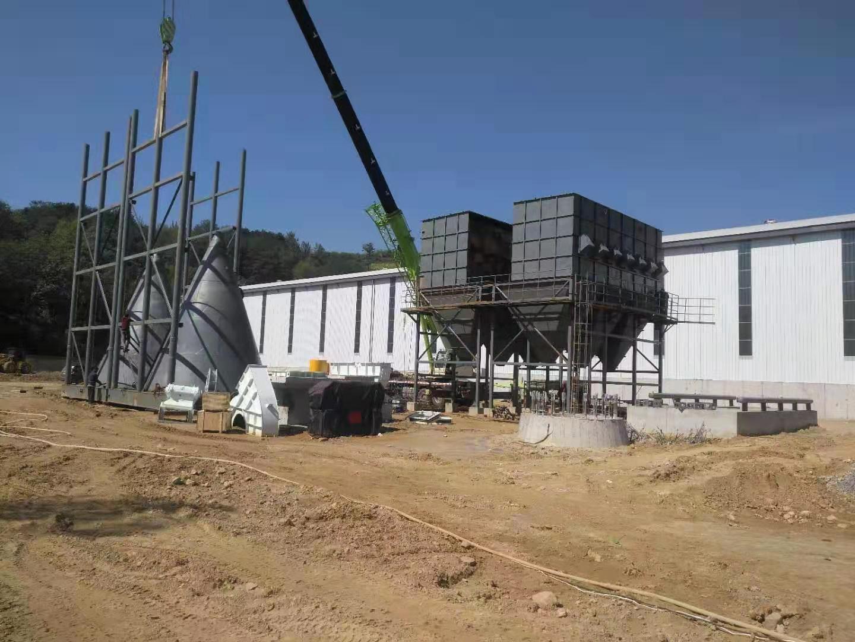 洛南县煤粉制备厂工程